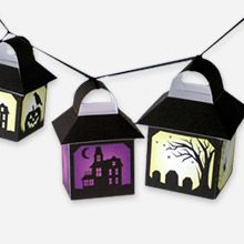 Halloween printable lanterns