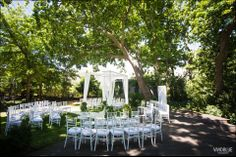 Like the concept of guests sitting around the couple. Greg and Mia – The Conservatory – Wedding