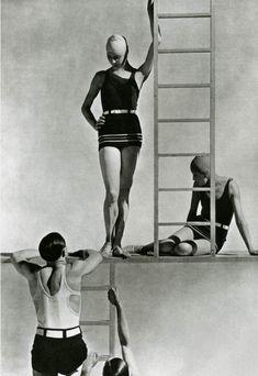 Lelong Bathing Suits (1929) by George Hoyningen-Huene.