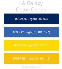 New York City Red Bulls Team Color Codes  Mls Team Colors