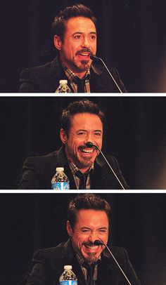 Robert Downey Jr. at Comic Con
