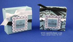 Ghirardelli Box by marlayne - Cards and Paper Crafts at Splitcoaststampers