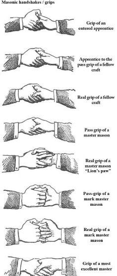 Freemason hand signs are satanic!