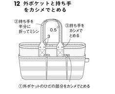 保育園ママにもおすすめ!ポケットたくさんのトートバッグの作り方(バッグ) | ぬくもり