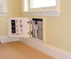smart fire safety devices: a built-in fire escape ladder, so you can get out of your house quickly in case of fire.