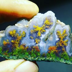 Moss agate from iran