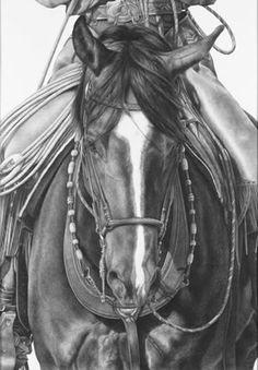 Karmel Timmons: Equestrian Art In Pencil