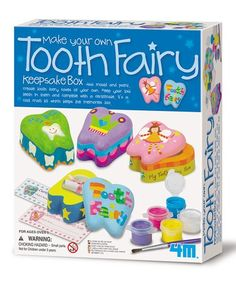 Another great find on #zulily! Make A Tooth Fairy Box Kit #zulilyfinds