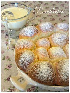 Vivi in cucina: Buchteln con salsa alla vaniglia