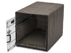 Windsor Charcoal Cover Up Set   Bumper and crate pad are reversible. Bumper and crate cover attach to crate with secure ties. Made in the USA.Jax
