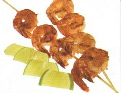 Chili-Lime Chicken & Shrimp Kabobs Recipe