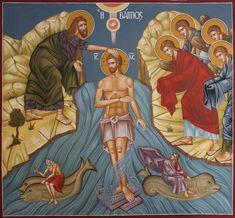 Βάπτισις Byzantine Icons, Princess Zelda, Fictional Characters, Art, Art Background, Kunst, Performing Arts, Fantasy Characters, Art Education Resources