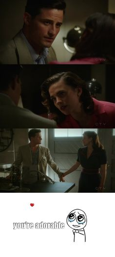 Agent Carter S02E06 - Life of the Party - i really want peggy and sousa together...