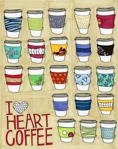 """We Love """"Heart"""" Coffee / Coffee art / Coffee Shop Stuff Coffee Heart, Coffee Talk, Coffee Is Life, I Love Coffee, Coffee Break, Coffee Shop, Coffee Cups, Coffee Coffee, Coffee Lovers"""