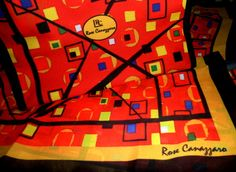 ECHARPE EM MUSSELINE BY ROSE CANAZZARO