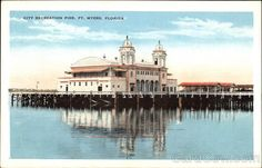 City Recreation Pier Fort Myers Florida