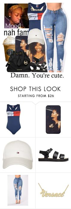 """""""untitled #209"""" by yani122 ❤ liked on Polyvore featuring Tommy Hilfiger, Zales and MICHAEL Michael Kors"""