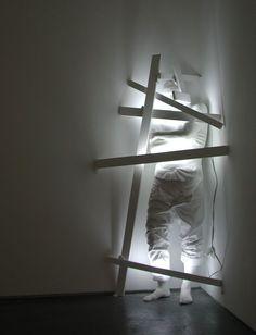 Installation, light and shadow Sculptures by Bernardi Roig