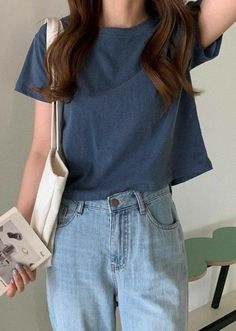 Neue Outfits, Style Outfits, Basic Outfits, Korean Outfits, Cute Casual Outfits, Retro Outfits, Vintage Outfits, Casual Clothes, Casual Skirts
