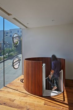 Three-story glass tower in San Francisco: Peter's House