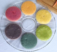 Rainbow Cake with Natural Dyes for the DailyBuzz Moms 9×9 | Itsy Bitsy Foodies