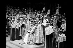 Making It Official  On June 2, 1953 the Queen's coronation took place at Westminster Abbey, London. Queen Elizabeth II was officially crowned and it marked the first time such a royal occasion was televised.