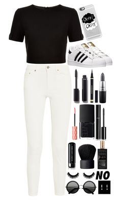 """""""Shut Up Because I Don't Care"""" by charlie0015 ❤ liked on Polyvore featuring Ted Baker, Acne Studios, Casetify, adidas, Chanel, Yves Saint Laurent, MAC Cosmetics, NARS Cosmetics, Benefit and Marc Jacobs"""