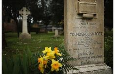 The gravestone of poet John Keats, (1795-1821), stands in Rome's 'Non Catholic Cemetery' in Rome, Italy. John Keats, one of England's most famous poets died early in 1820 of tuberculosis aged 25, after travelling to Italy in search of a better climate to help cure him of the disease. Rome's Non-Catholic Cemetery contains one of the highest densities of famous and important graves anywhere in the world. It is the final resting-place of the poets Percy Shelley and John Keats, as well as many…