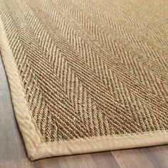 Hand-woven Sisal Natural/ Beige Seagrass Rug (9' x 12')