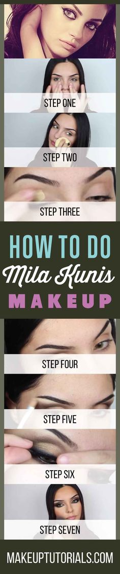 How To Do Mila Kunis Makeup Tutorials   Easy DIY Makeup Ideas & Tips For Doing Your Makeup Like Celebs By Makeup Tutorials. http://makeuptutorials.com/makeup-tutorials-how-to-do-mila-kunis-makeup/