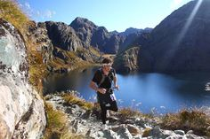 The Routeburn Classic trail race in the South Island of New Zealand.