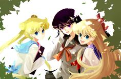 Rei Hino & Friends!! I love you <3