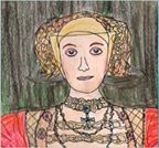 Anne of Cleeves, beautifully illustrated by our Keepsake designer PS Salmi