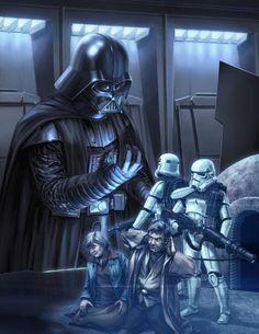 Vader /by ?? #StarWars #art