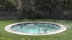 Hidden Water Pool - goes from patio to pool and back. WANT!