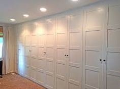 Image result for wall of closets