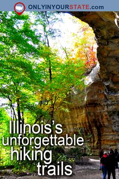 These 12 Trails In Illinois Will Lead You To Unforgettable Places Weekend Trips, Weekend Getaways, Day Trips, Vacation Destinations, Vacation Spots, Midwest Vacations, Places To Travel, Places To See, Shawnee National Forest