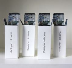 Leslie David: Chalayan Airborne Fragrance Packaging