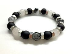 Hey, I found this really awesome Etsy listing at https://www.etsy.com/listing/237500670/cool-mens-bead-bracelet-hex-nut-bracelet