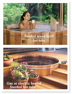 Hot Tubs for the homestead!