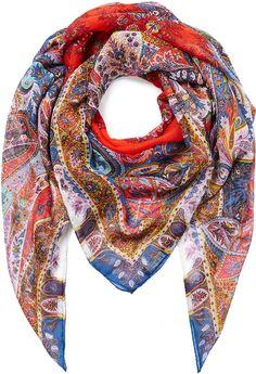 Etro Paisley Print Silk Scarf on shopstyle.com
