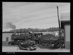 The Bangor & Aroostook Railroad located on Limestone Street in Caribou, Maine.