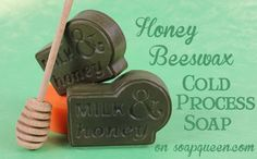 Honey Beeswax Cold Process Soap from the Soap Queen.  I love Ann-Marie!