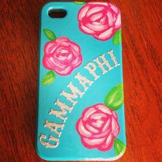 Gamma Phi Beta IPhone case #GammaPhiBeta #GammaPhi #IPhone #craft #sorority