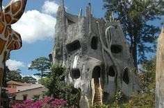"""Hang Nga Hotel (or """"crazy house"""", as it's been dubbed by the locals) is hidden away in the mountain town of Da Lat"""