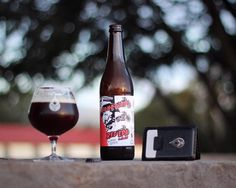 @craftdglass is enjoying the amazing craft beer of New Zealand. This Red IPA from @funk_estate looks tasty. We will have to make another wallet to accompany the @craftdglass bottle opener!