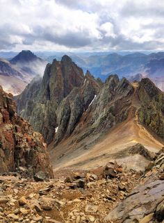 MT. Sneffels, Colorado - I live this pic.  It looks so rugged. And I've been right in this spot!
