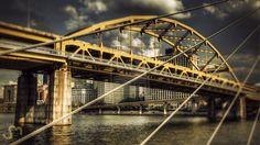 Fort Duquesne Bridge by smontgomery.deviantart.com