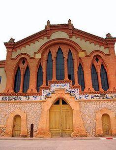 Tarragona Facade of Celler Cooperatiu del Pinell de Brai