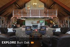 Burr Oak State Park in Southern Ohio. Lake, Lodge, cabins, swimming, fishing, rustic. Beautiful location for a destination wedding.